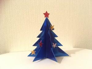 立体型クリスマスツリー 写真